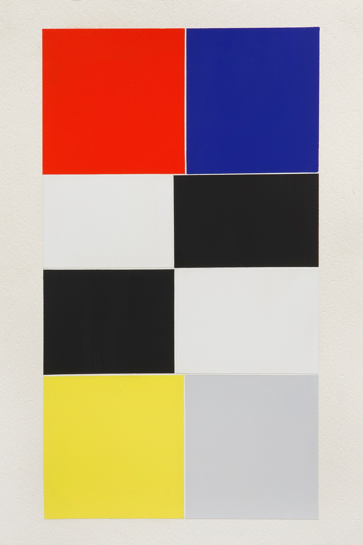 Atone, 2017Acrylic paint on gesso on cotton paper22 x 14 inches -
