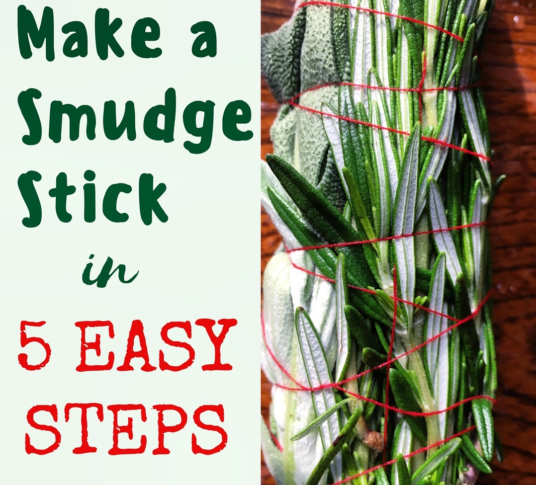 DIY Smudge Stick