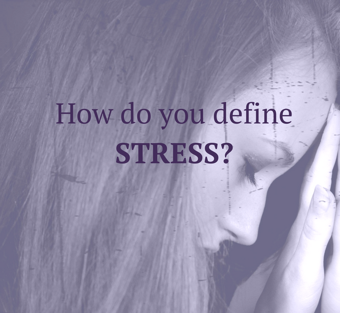 Stress manifests differently for everyone. Sometimes you have to look deeper to realize how stressed you are. I know I did!