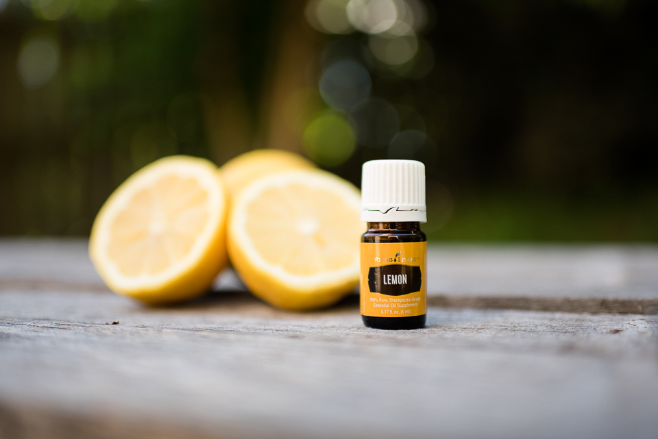 A couple drops of Lemon Vitality in your water is a great way to start every day! (Vitality bottle not shown. Same great oil, different label)