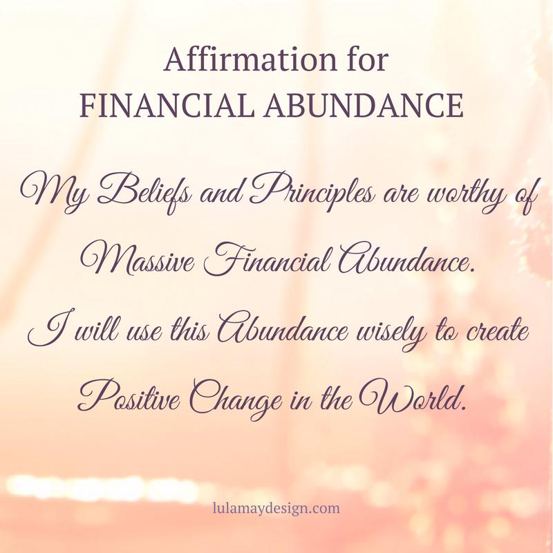 Affirmation for Financial Abundance