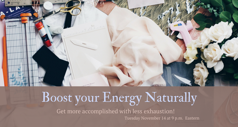 November - Boost your Energy Naturally Workshop Banner.png
