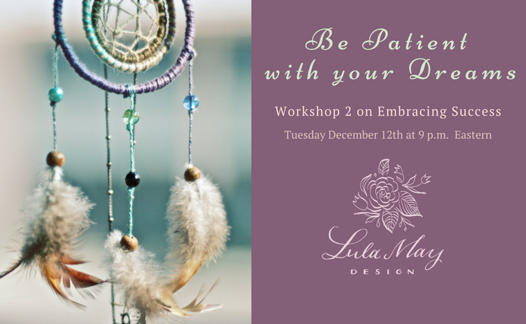 Join us this week as we learn the importance of patience for creating true and lasting success!
