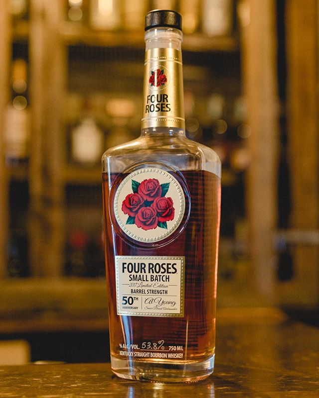 We're celebrating the 🐎 @kentuckyderby today with 🌹 @fourrosesbourbon Limited Edition 50th anniversary Al Young. Happy betting, we have our money on #7. Cheers!! . . . #whiskey #whiskeyporn #whiskeygram #bourbon #kentucky #kentuckywhiskey #kentuckybourbon #whiskeylover #whiskeywednesday #drinks #drinkup #drinklocal #thirsty #feedfeed #instagood #instadrinks #pleasanton #downtownpleasanton #livermore #oakland #dublin #sanramon