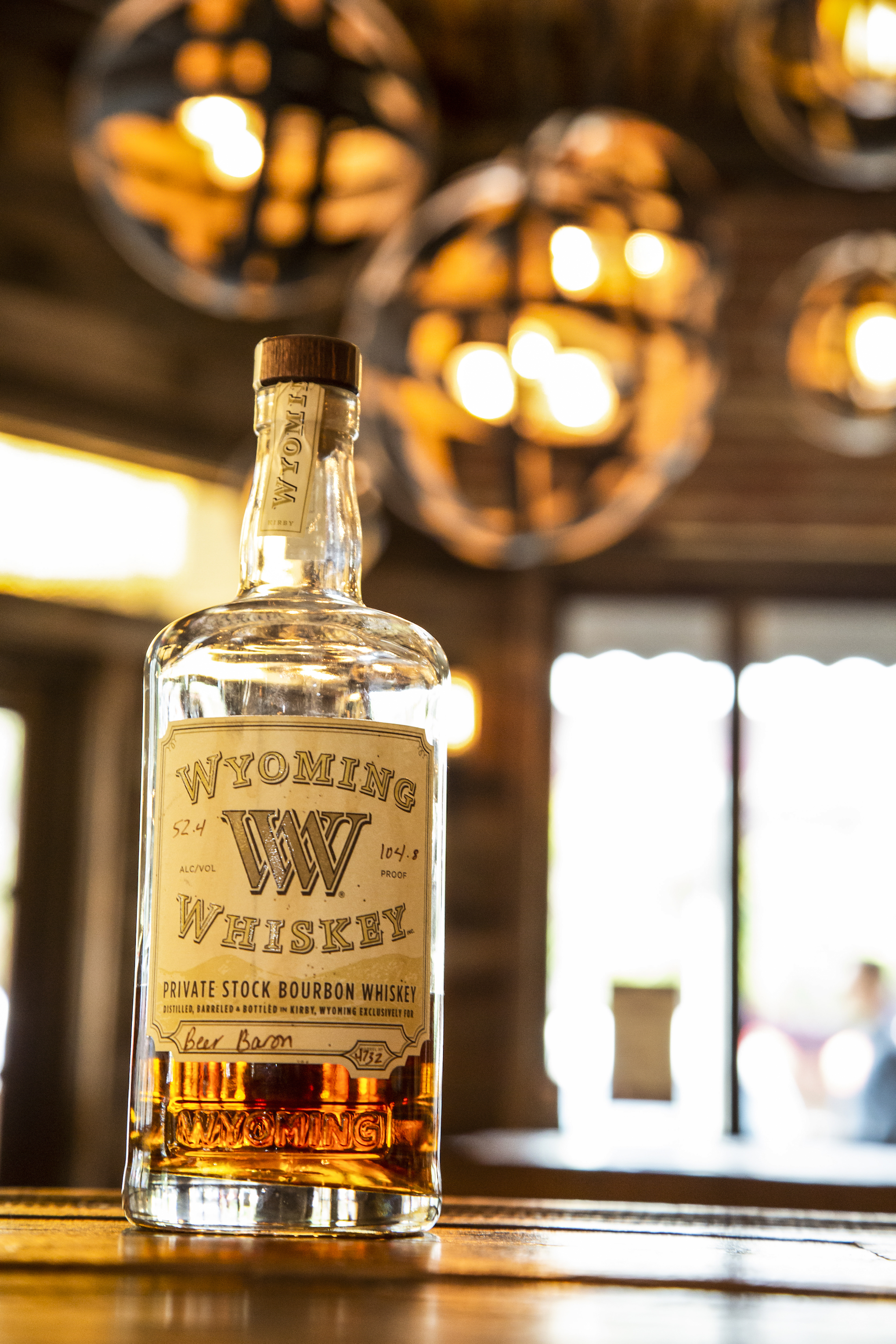 """Welcome to a Wyoming Whiskey Wednesday! . """"This Private Stock Single Barrel of bourbon was chosen for you because its unique character left an impression on all who have sampled it. Ancient limestone water, high-prairie grains, and five years in the best charred American oak, made this bourbon what it is. It is 240 bottles that can't be found anywhere else. And this bottle is yours."""" -Straight from the back of the bottle, Wyoming Whiskey . We can't wait for you to come and try this unique whiskey! And don't worry, theres more where this came from!  Whiskey Wednesday features 50% off all whiskeys $10/oz and under!"""