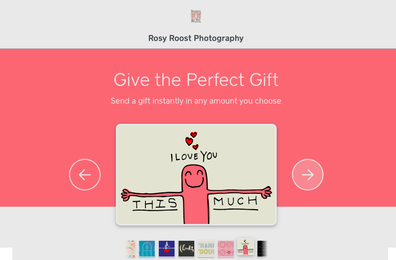 Give the Most AWESOME gift - Purchase a rosy roost gift card:https://squareup.com/gift/0KEJMNBAW7D2P/order