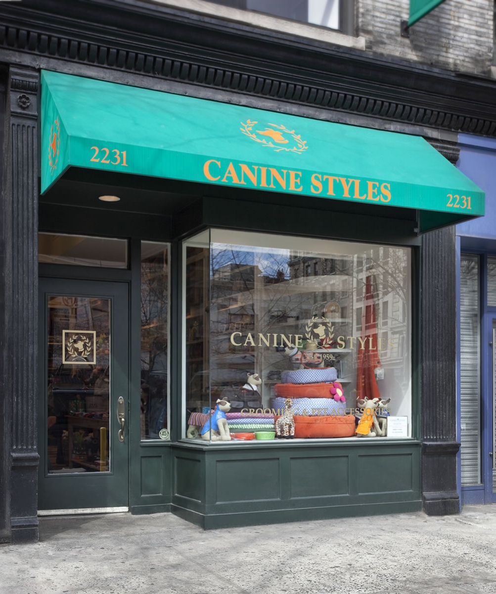 CANINE STYLE<br>STORE, NYC