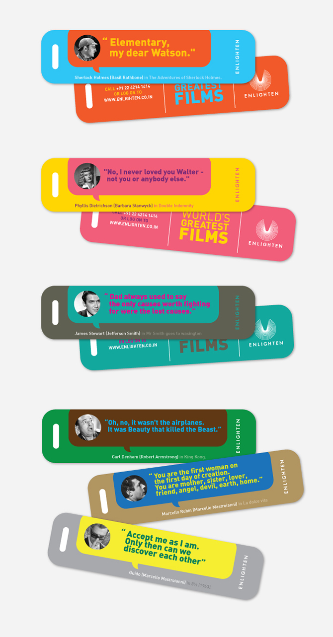 Promotional Communication Material / Bookmarks.