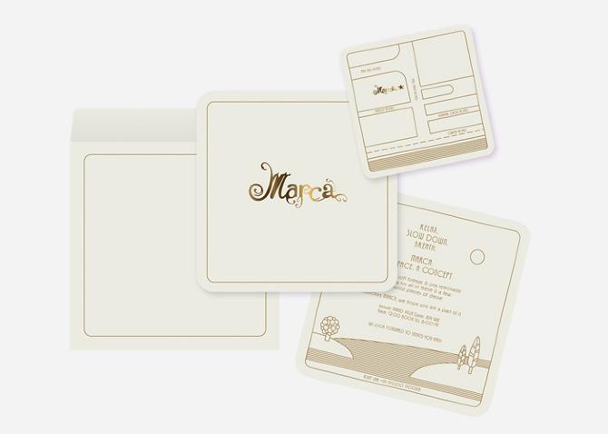 Marketing Communication / Launch Invite.
