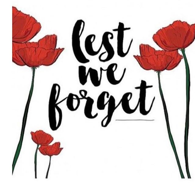 They shall not grow old as we are left to grow old; Age shall not weary them, nor the years condemn. At the going down of the sun and in the morning we will remember them #anzac #thankful #sacrifice #service