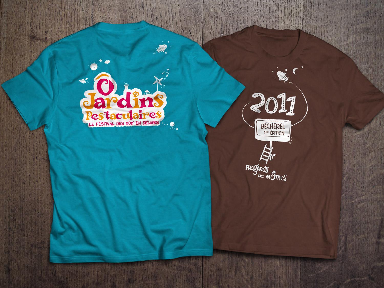 T-Shirts bénévoles (différents éditions)