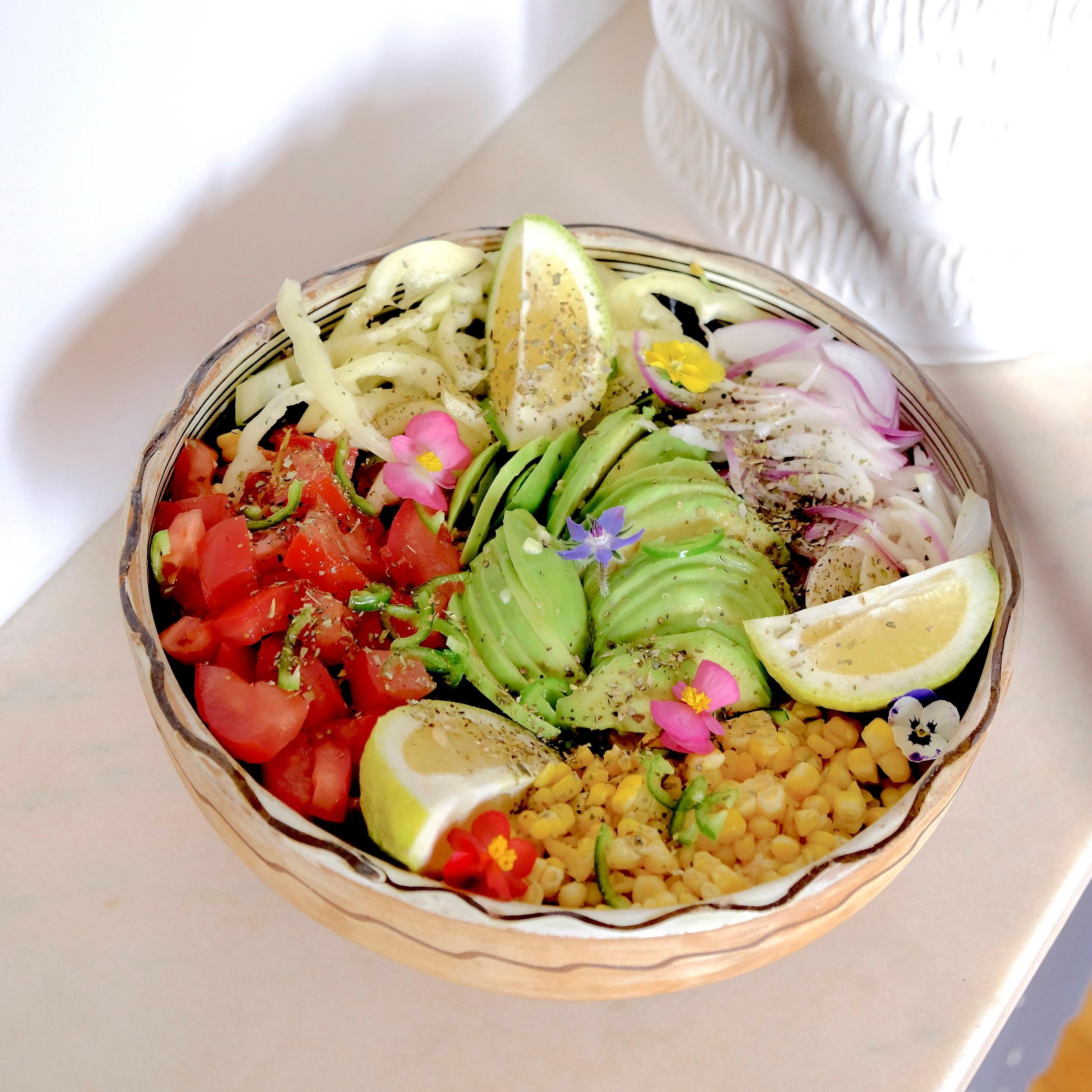 buddha bowl vegetarian