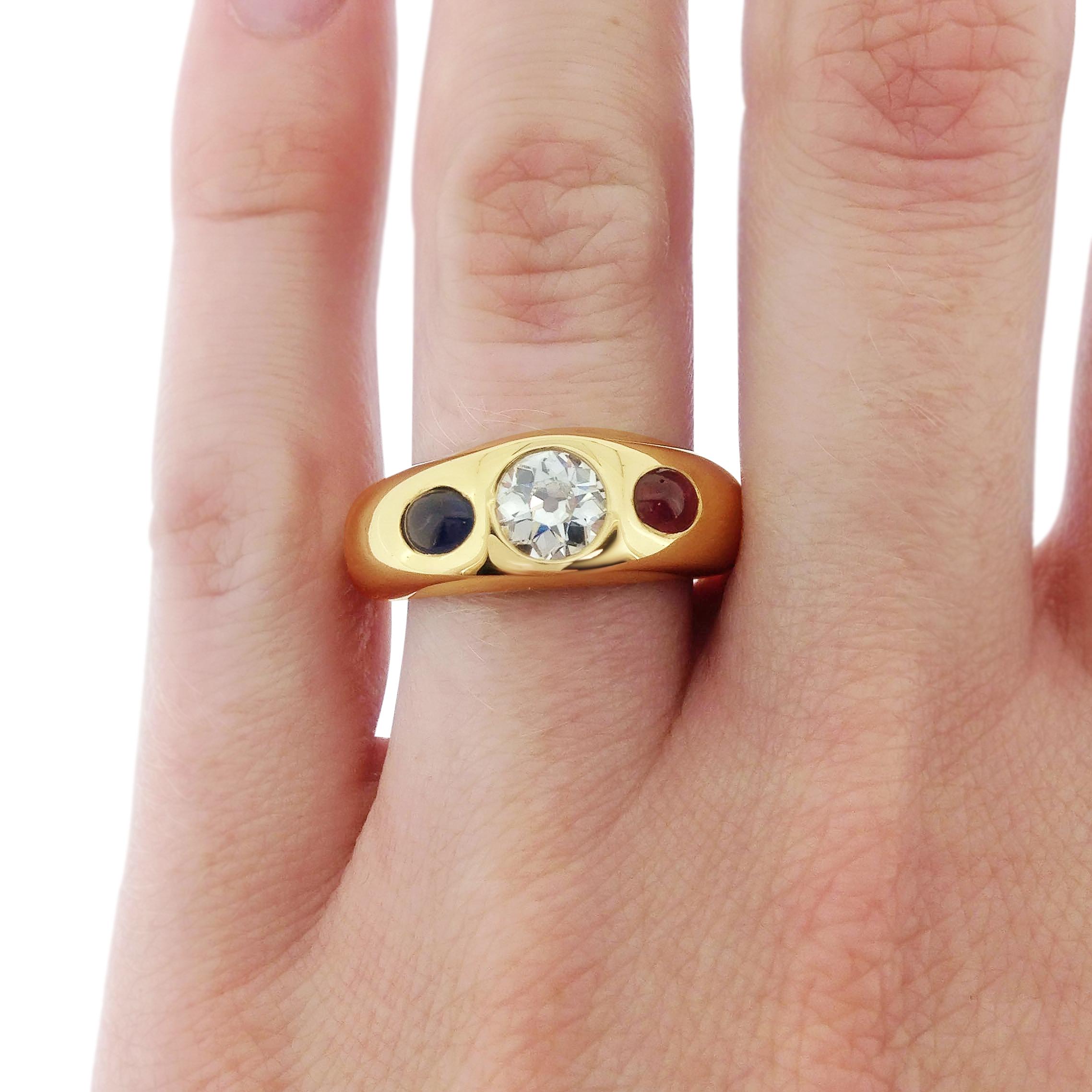 Diamond-sapphire-and-ruby-gold-gypsy-ring-1.jpg