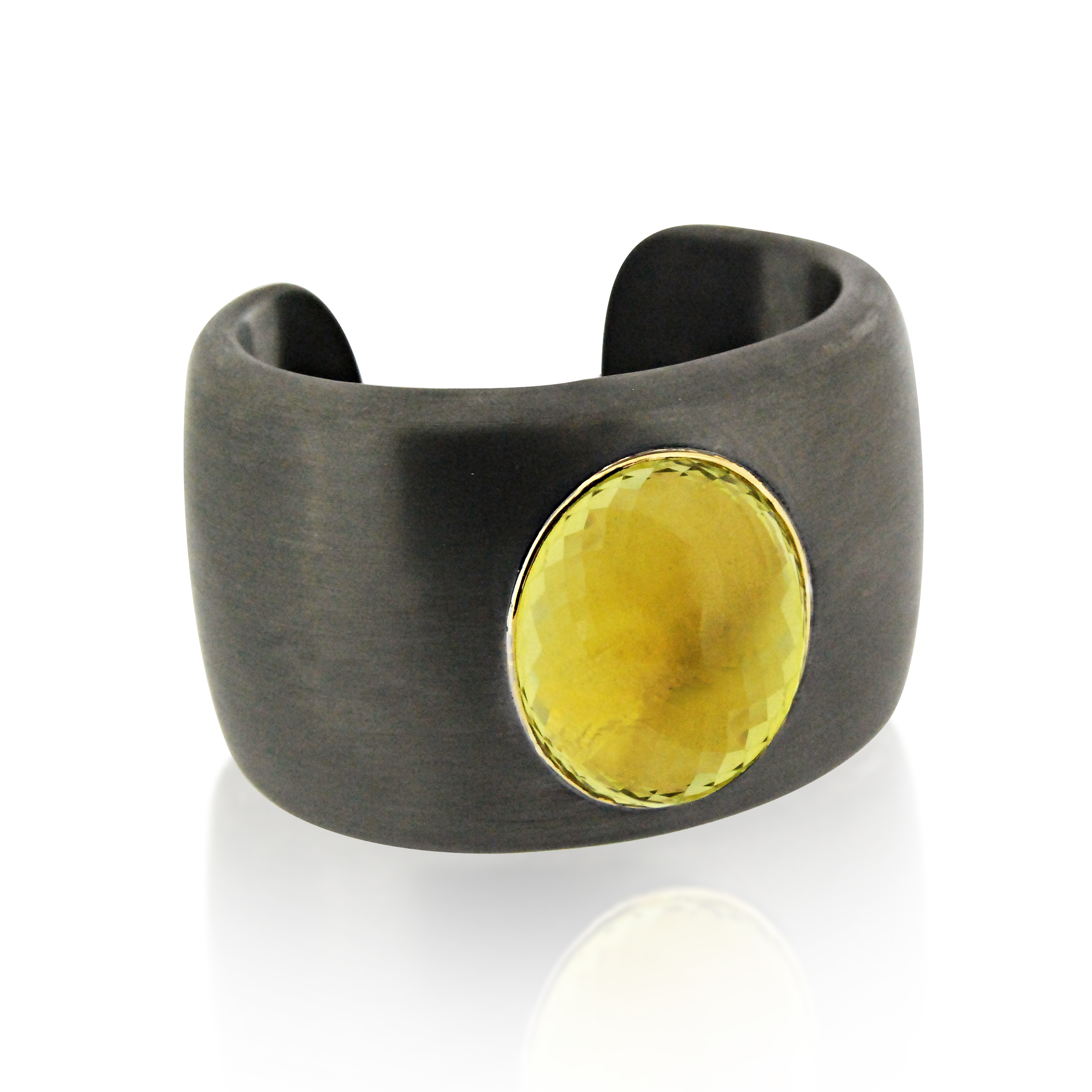 Citrine-and-blackened-silver-cuff-slight-side-view.jpg