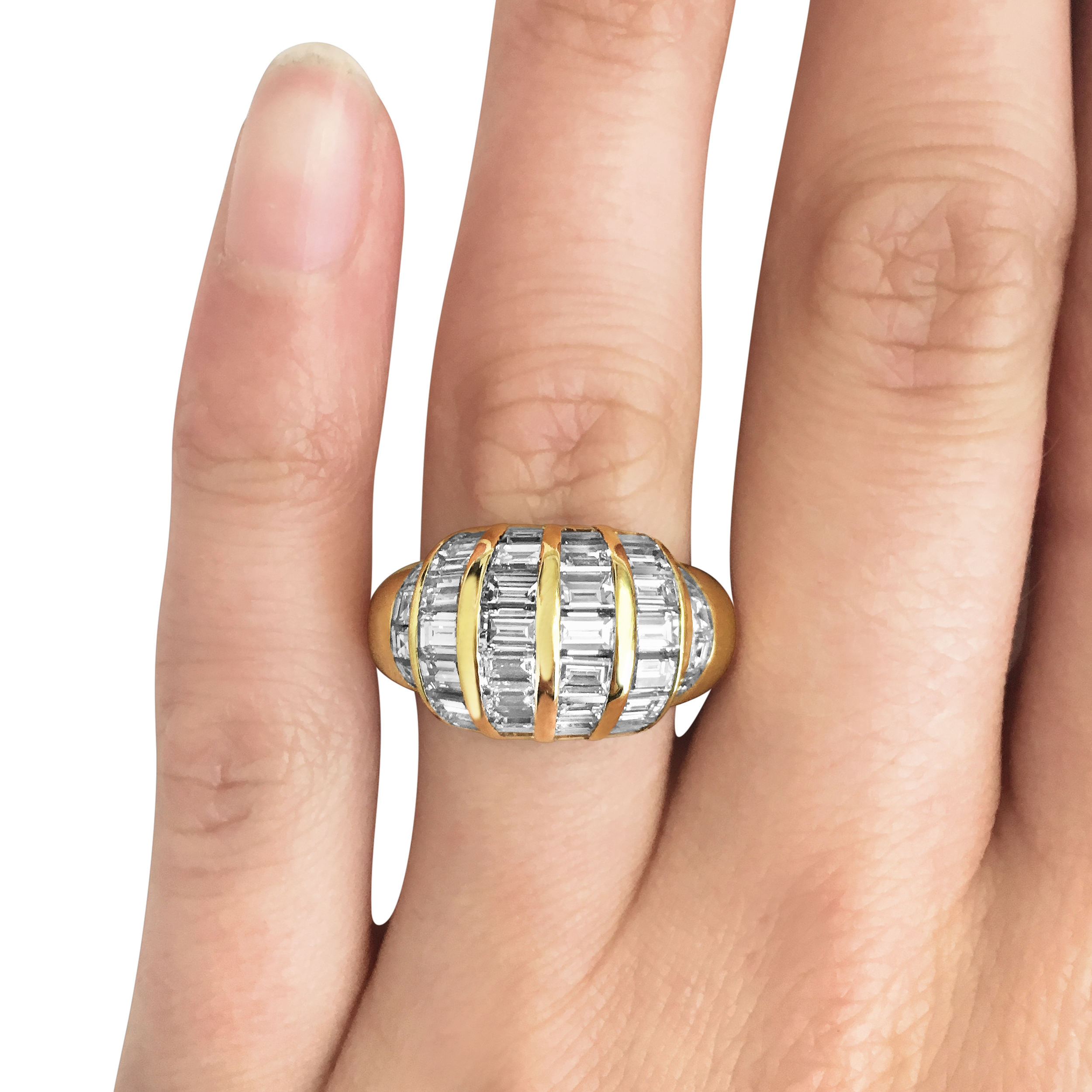 Vintage-square-and baguette-cut-diamond-domed-cocktail-ring-SN169-1.jpg