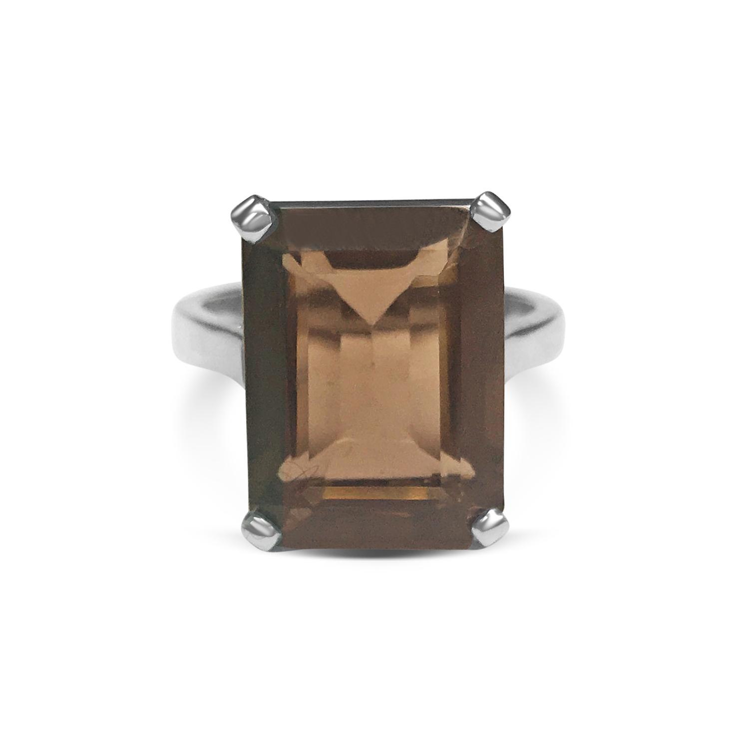 smokey-quartz-and-platinum-four-claw-ring-1.jpg