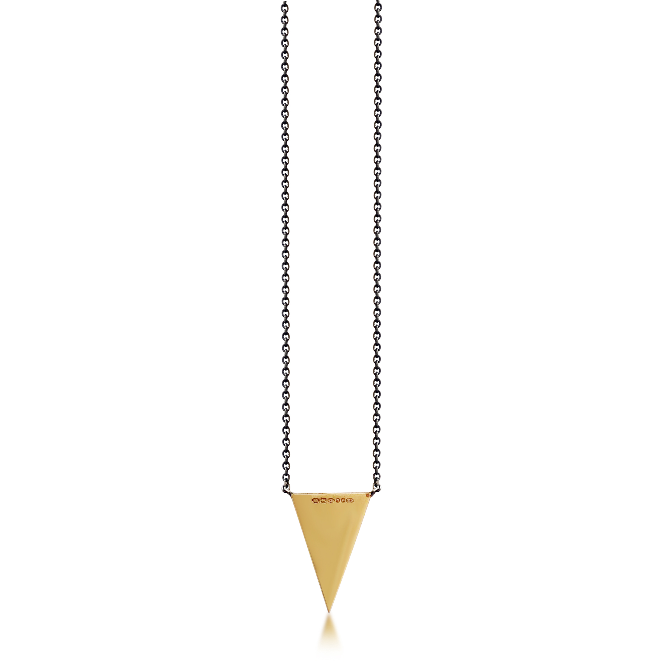 Black-and-white diamond-arrowhead pendant-with-9ct-yellow-gold-mirror-effect-reverse-and-blackened-silver-16inch-chain-SN13b-3.jpg