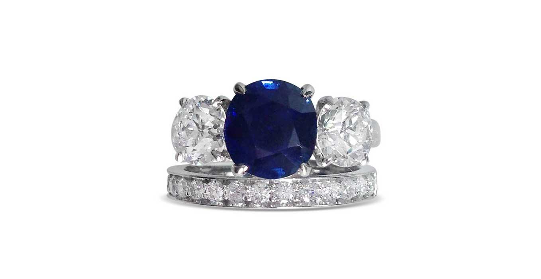 Remodelled Navette Shaped Diamond Ring