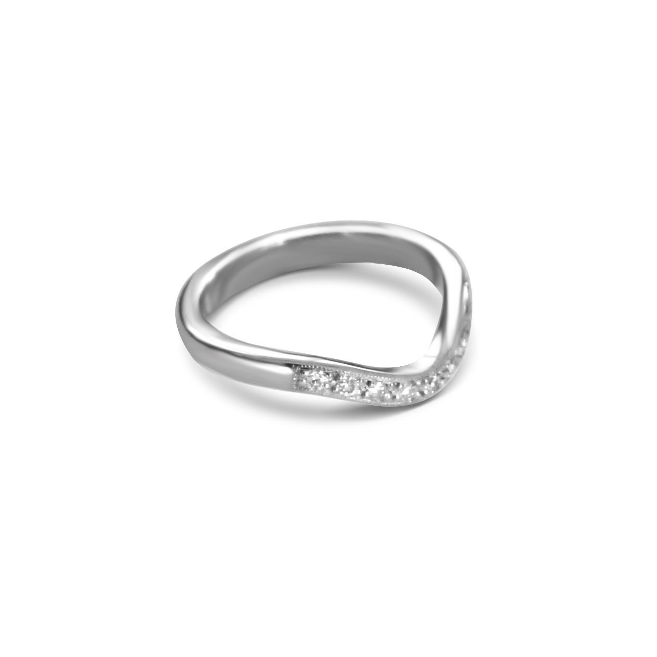 Bespoke Diamond Wedding Ring