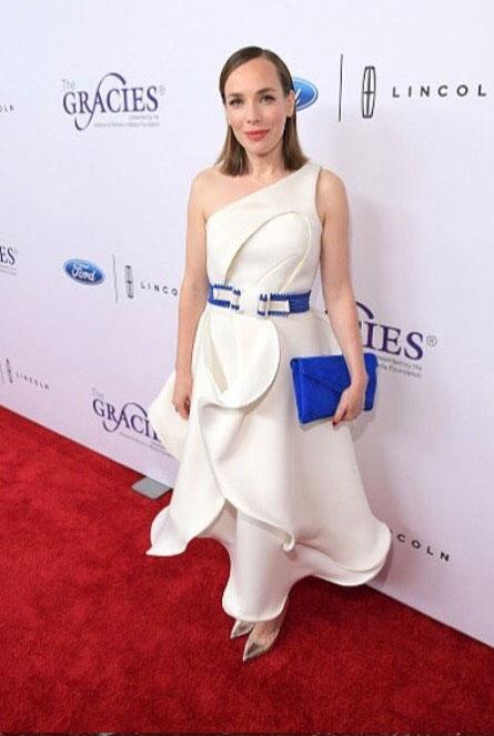 Laura Main at the Gracie Awards 2017
