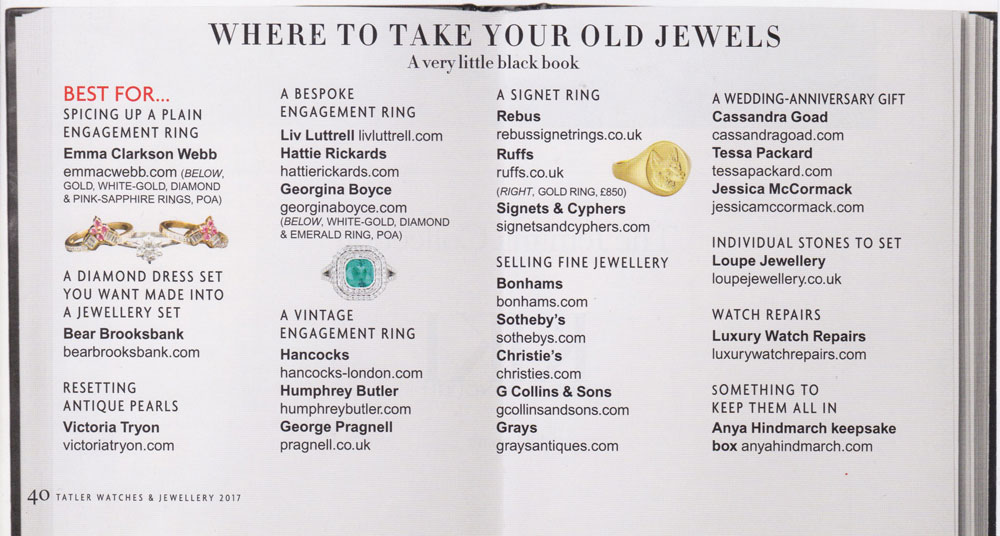 Where to take your old jewels