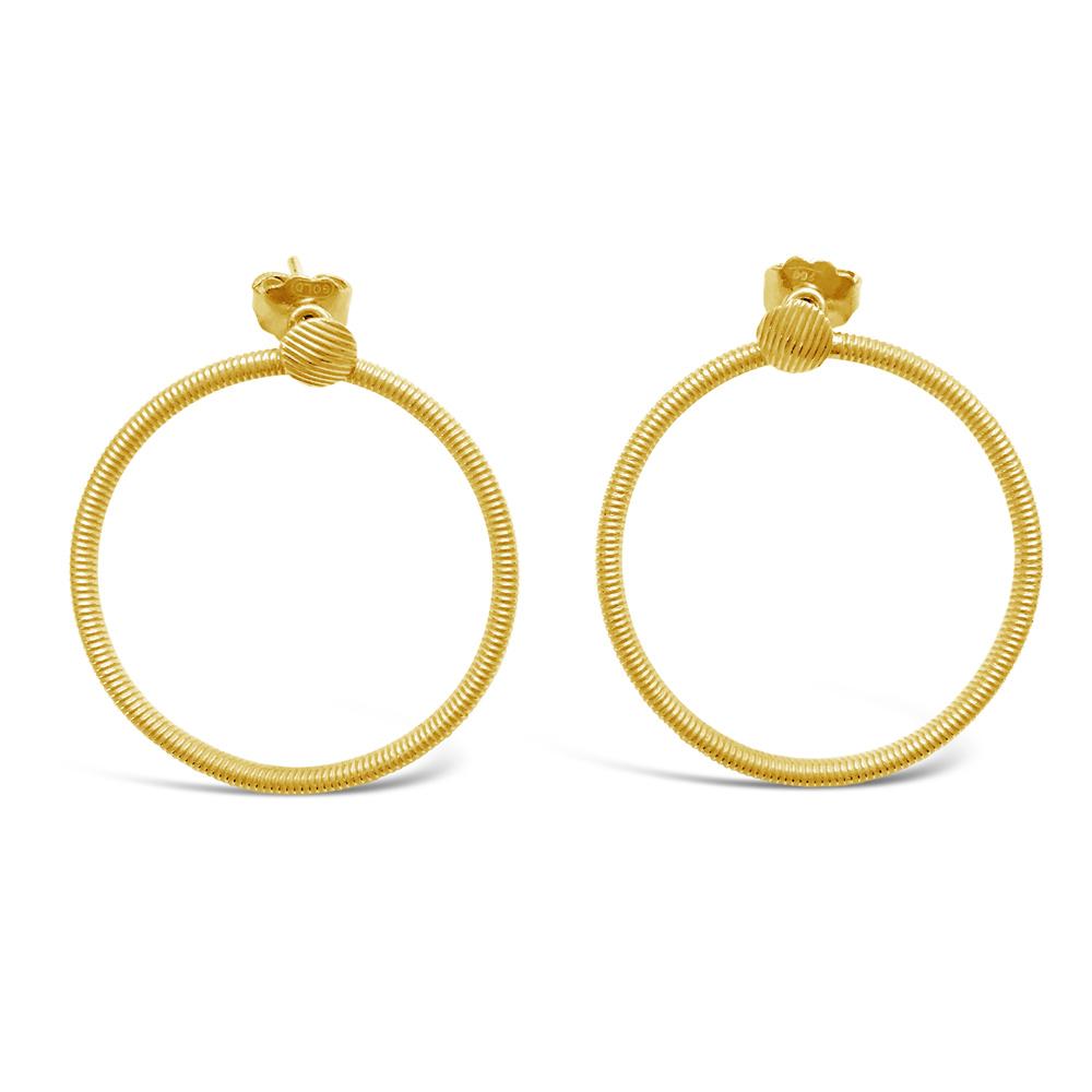 Vintage-Large-Hoop-Earrings