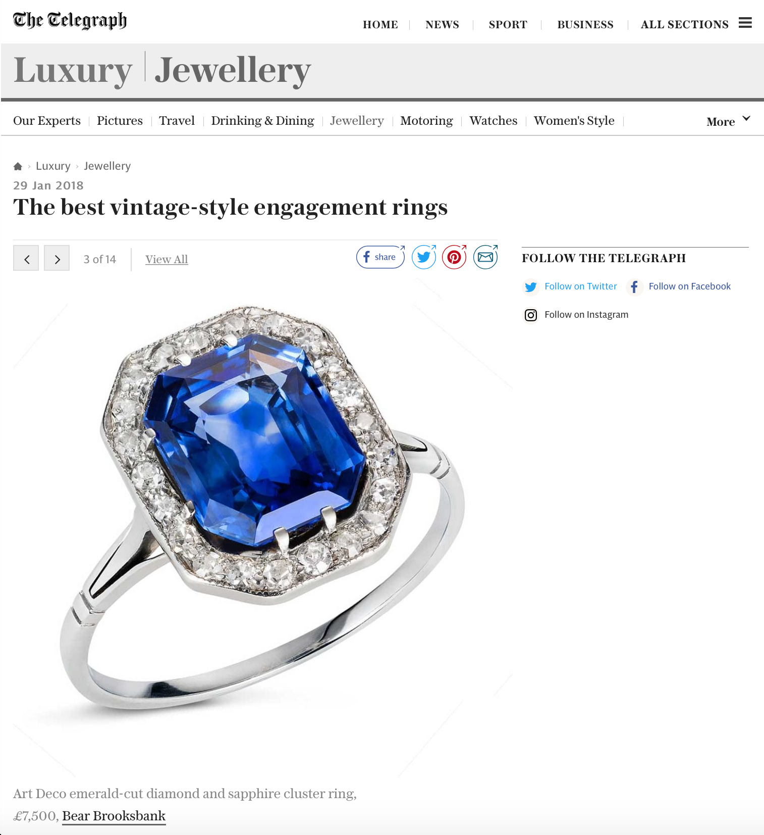 The best vintage-style engagement rings