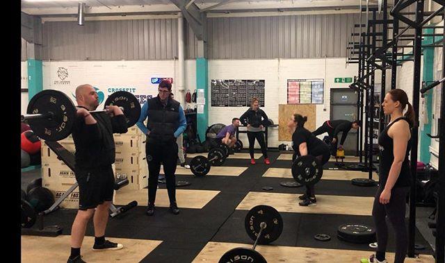 Our church! Where guys and girls learn to get strong. Coached session Tomorrow Sunday 10th feb 3-5pm with coach @benjakeman. Drop ins always welcome, follow our program or yours. #britishweightlifting #middlesbroughfitness #crossfitulysses #weightlifting #sportengland #middlesbroughweightlifting @crossfitulysses TS6 6UR