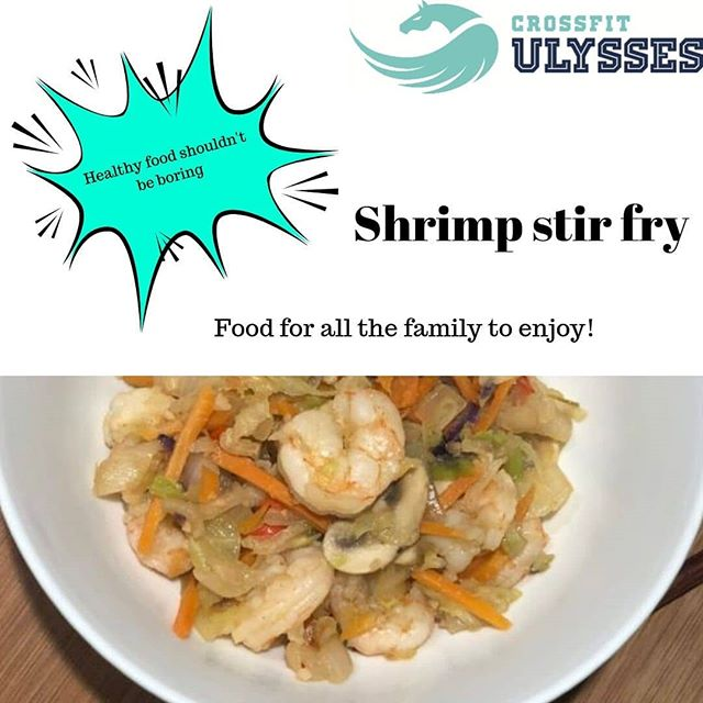 What better way to warm up on those dark nights than with a healthy, hearty portion of good quality food.  Shrimp stir fry is a simple, yet yummy recipe that all the family can enjoy.  Why not check out our website and see more delicious recipes to keep you on the right path.  Need advice and help to get started?  Why not book a free intro (link in bio) and let one of our coaches lead you in the right direction.  #crossfitulysses #ulyssesnutrition #redcarandcleveland #middlesbrough  #ulyssescommunity #trusttheprocess  #ttp #freeintro #healthystepsnutrition #fitfam #insipre #getstrong #healthy #bestversionofyou #teesvalley #twobrainboxes  #healthyeducation #investinyou #healthytrain  #allaboutbalance #healthychoices #whathaveyougottolose #nutritioncoach