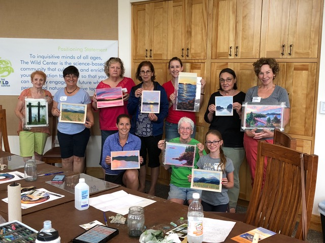 Pastel Workshop, Wild Center.jpeg