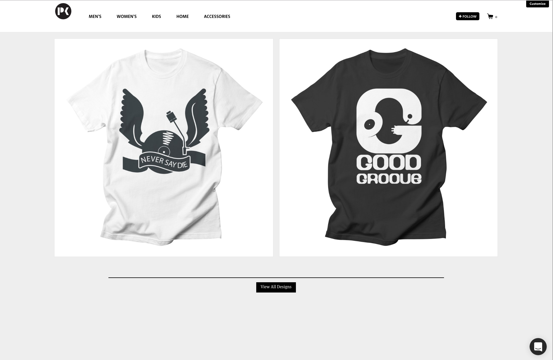 Check out the first designs online now.
