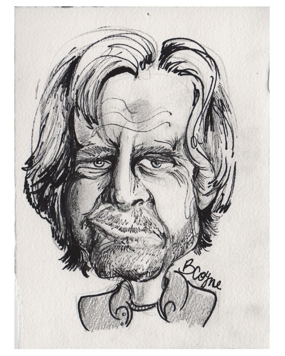 William H Macy Sketch