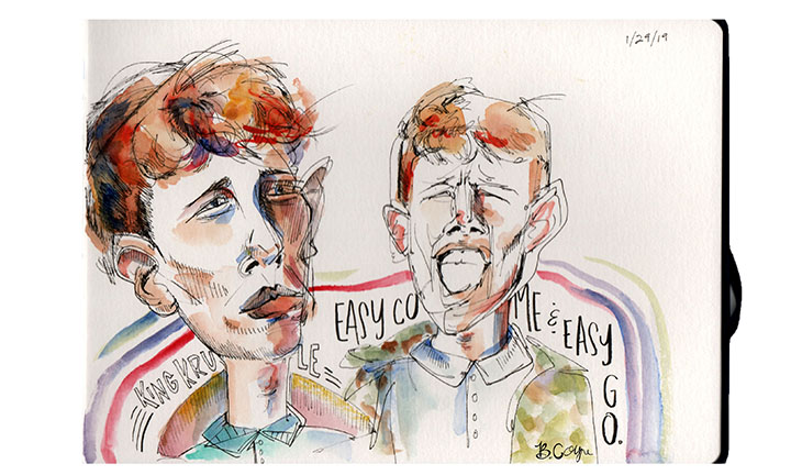 King Krule Sketches