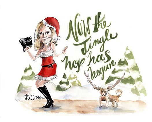 Jingle Hop Holiday Card