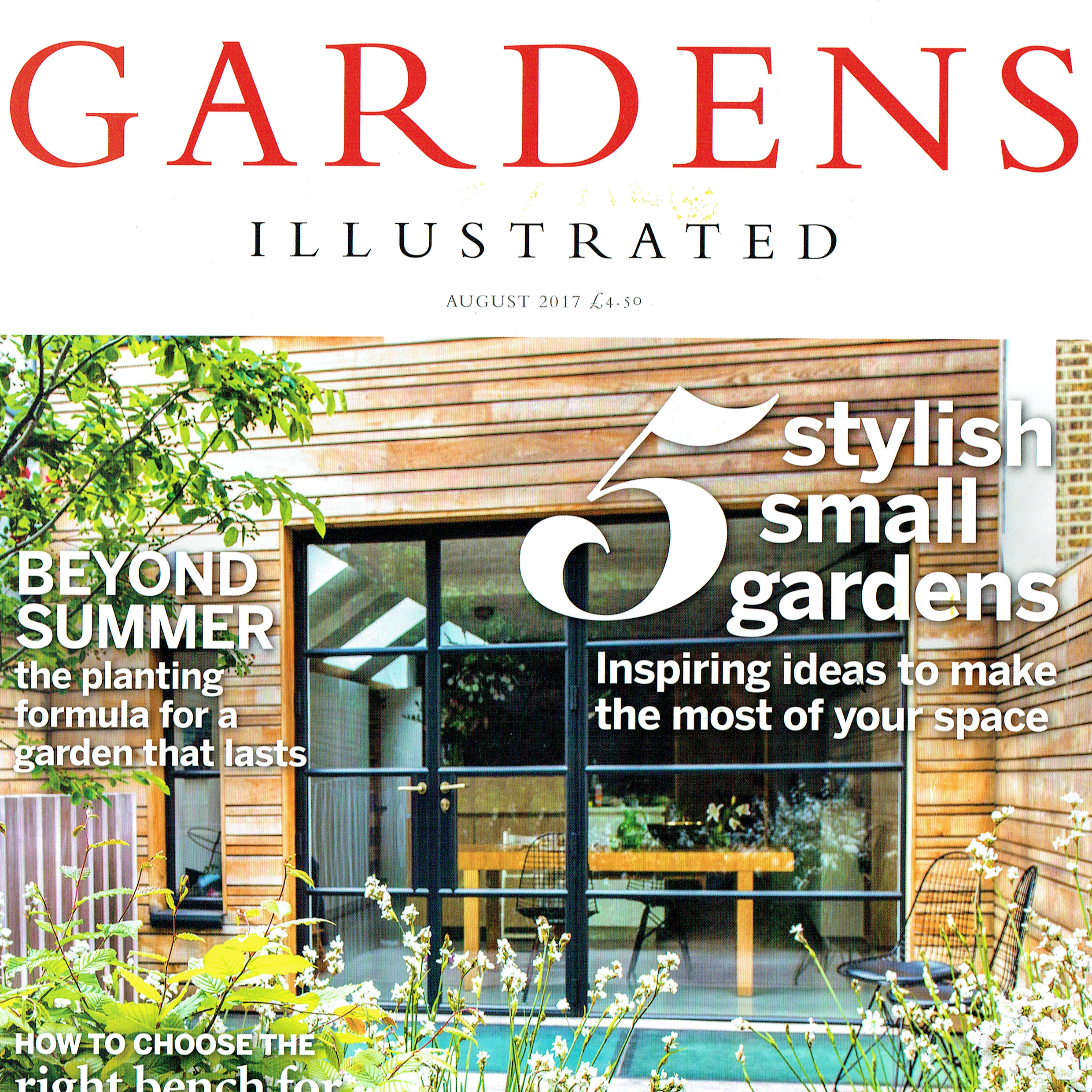 Gardens Illustrated, augustus 2017