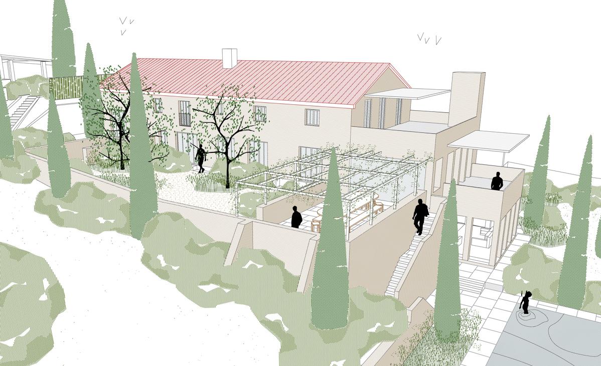 tuinarchitect_steyaert_brussel_venasque_vaucluse_avignon_bergen_cypres_aanzicht