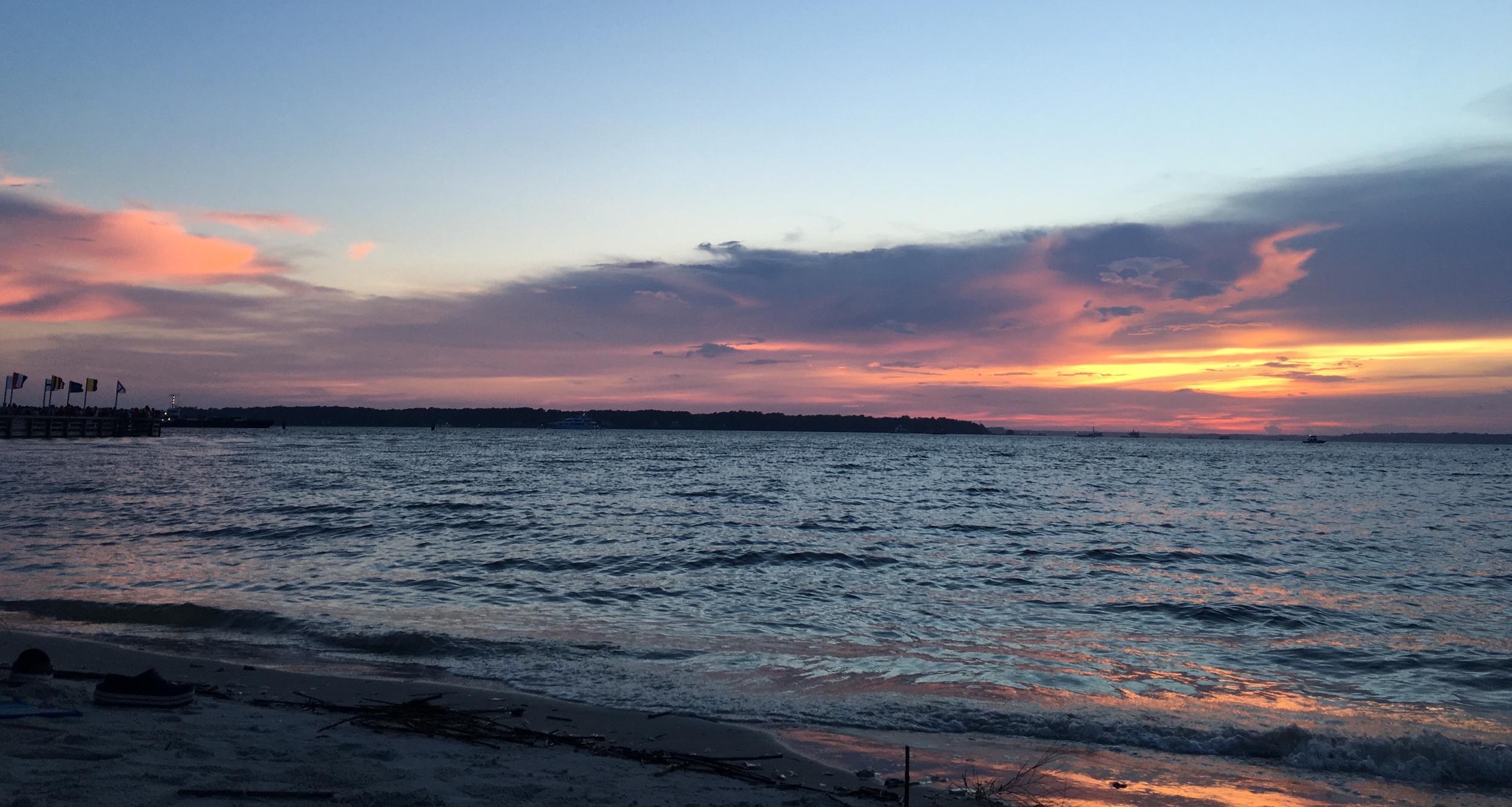 4th of July Hilton Head sunset