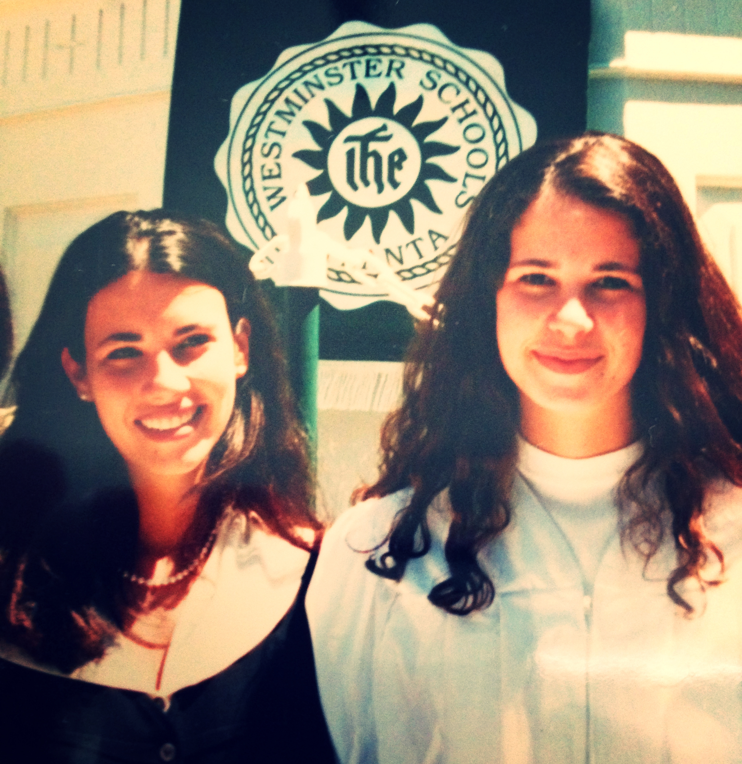 Even though it looks like I'm wearing a clergy-person's outfit, this is my high school graduation day.