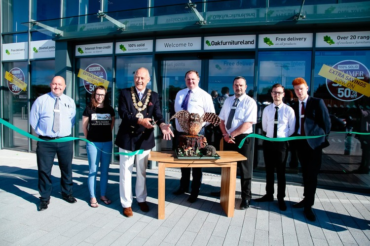 John Rose Oak Furniture Land Opens In Salisbury