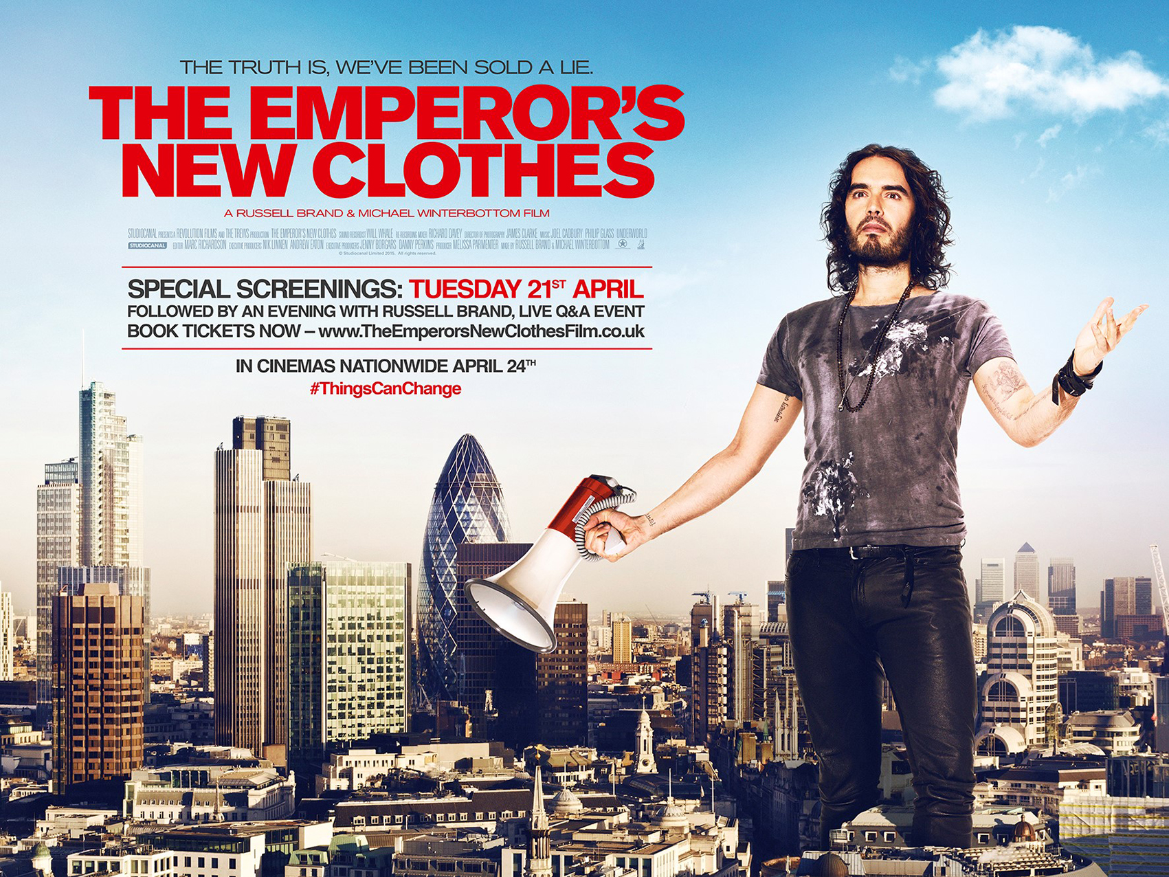 The Emperor's New Clothes Poster Artwork