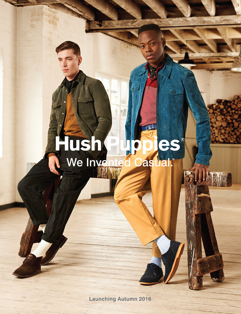 Hush Puppies AW16 Campaign