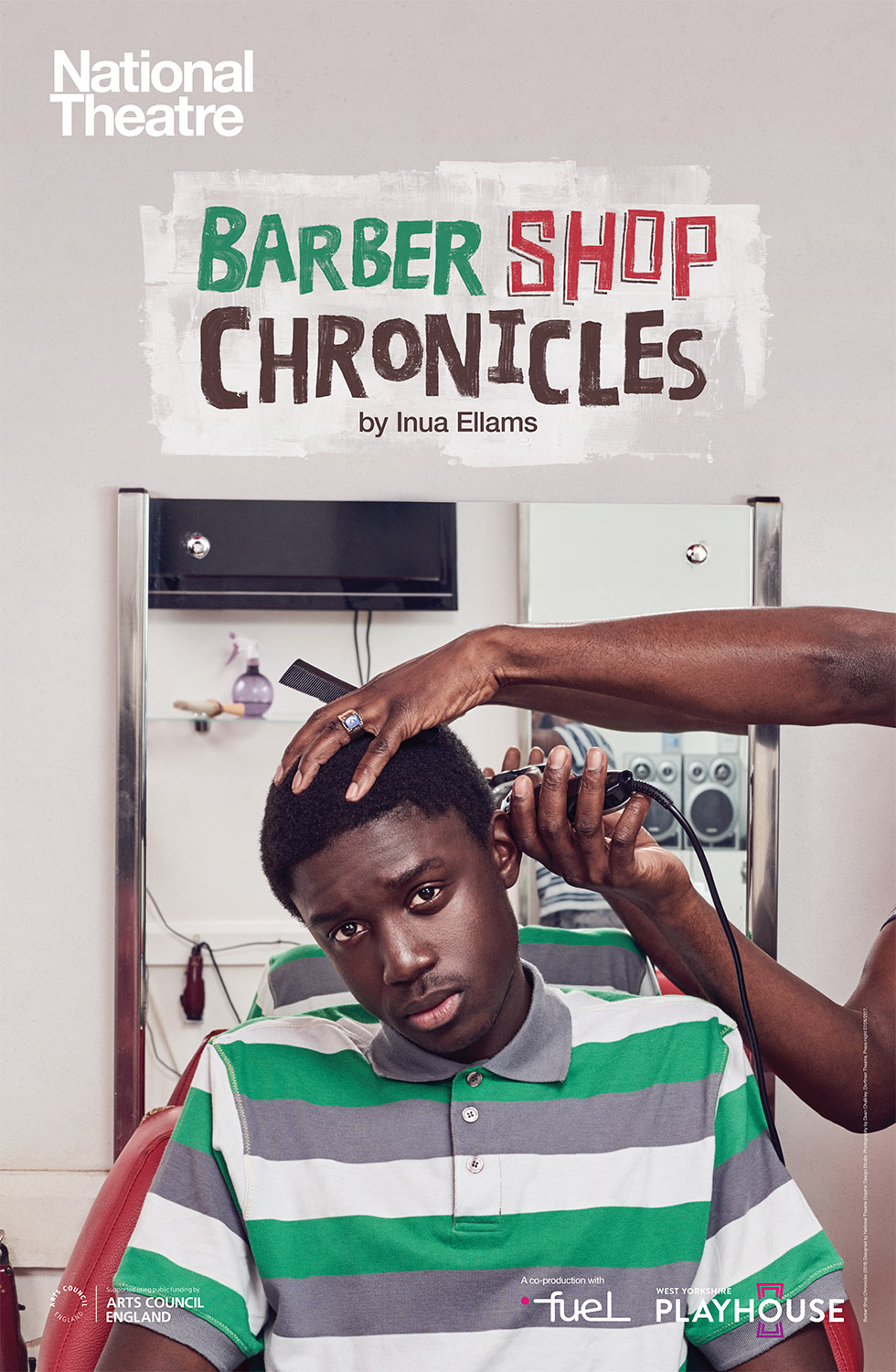 Barber Shop Chronicles Artwork, National Theatre