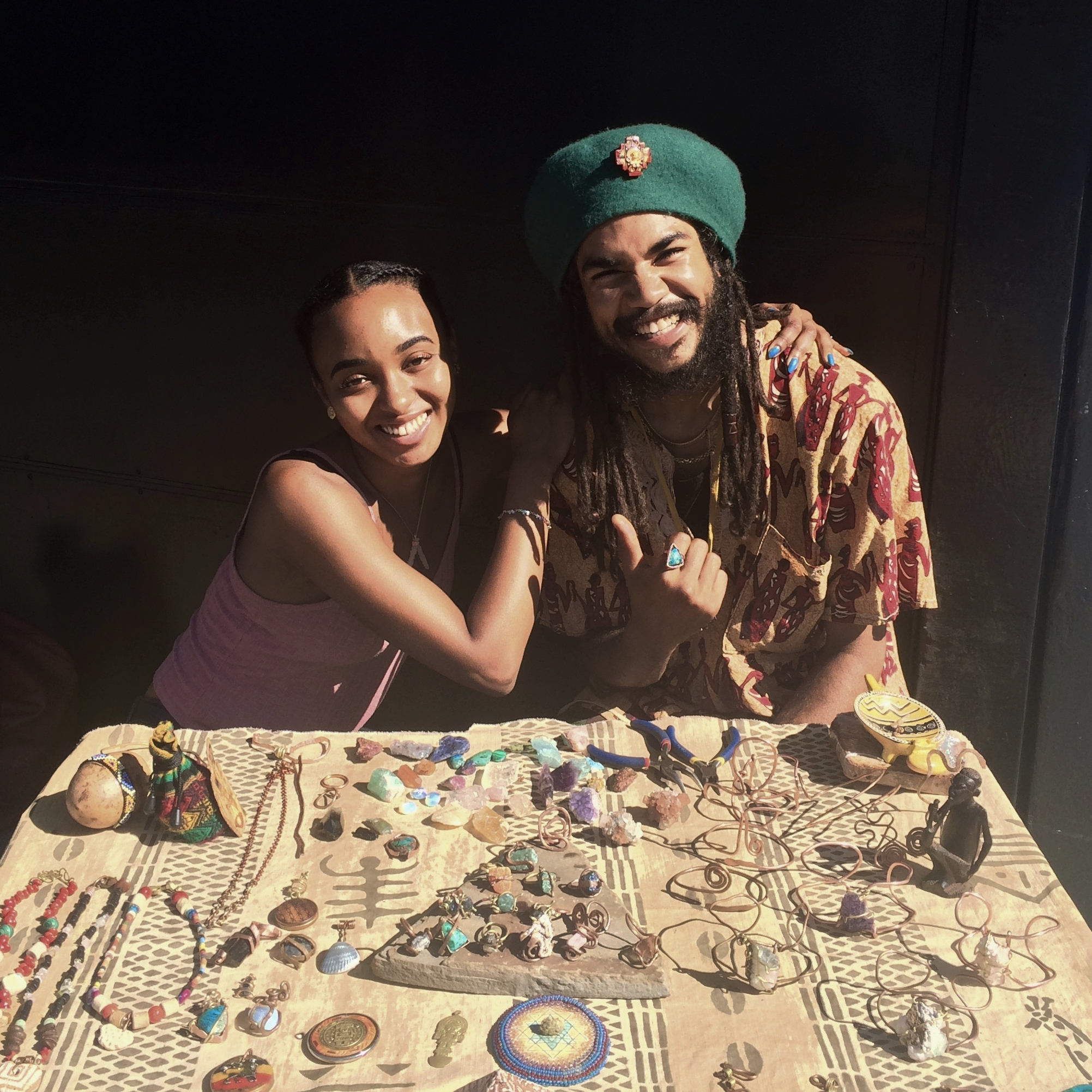 Multidiciplinary Artist & Friend Malcolm Yarde