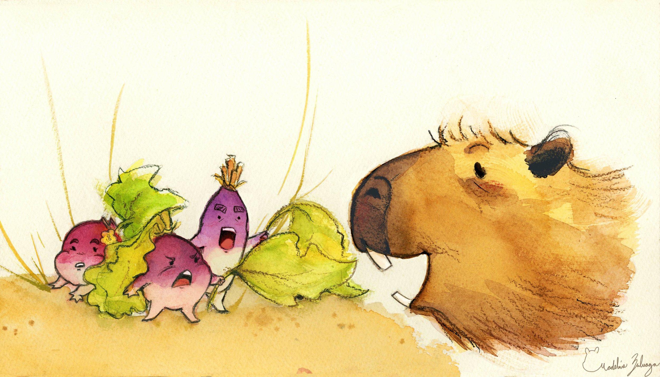 Madeline-Zuluaga---Mr.-Capybara-and-turnip-family.jpg