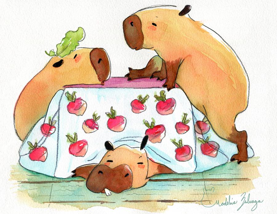 Madeline-Zuluaga-Kotatsu-Capybaras-resized.png