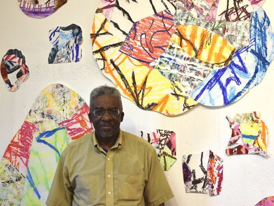 Brooklyn artist influence by energy of his community - (Asbury Park Press, Mar. '17)