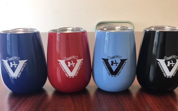 10 oz. Cups (Navy, red, light blue, and black) $13.50