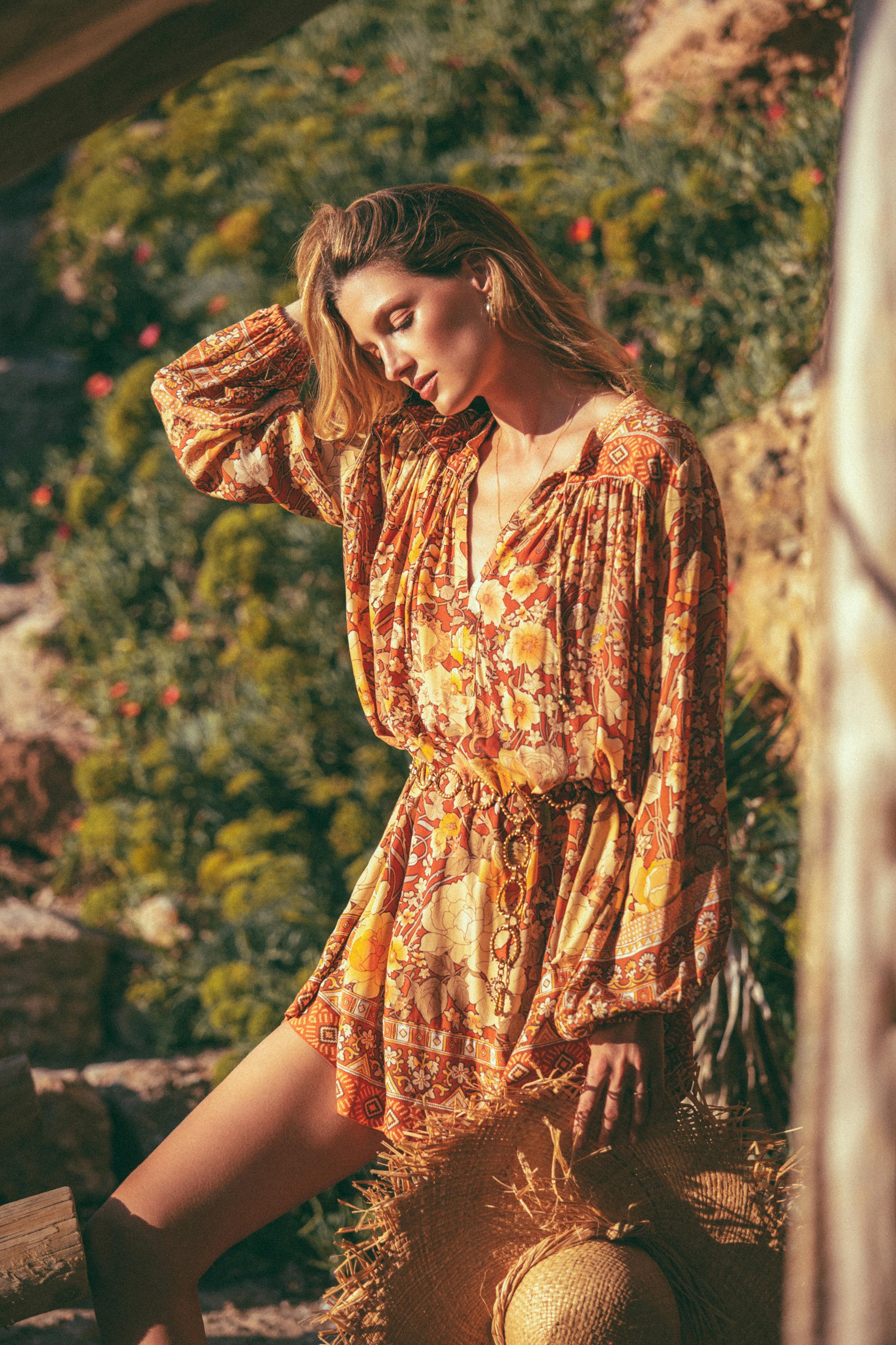 Spell-Amethyst-Keyhole-Smock-Dress-Amber-LadyAmethyst-5187.jpg