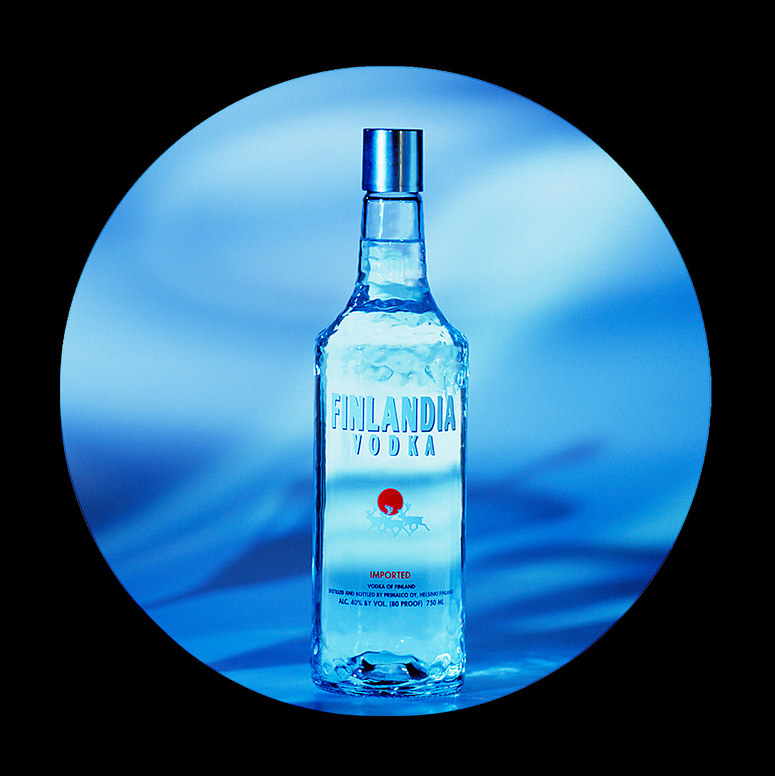 Product photo of Finlandia vodka bottle