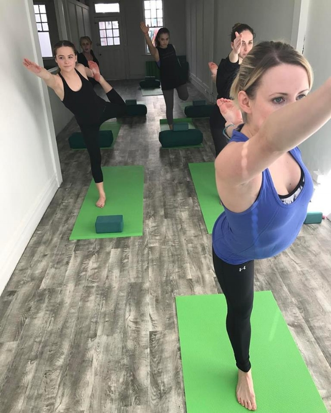 Rockaway Love Yoga Studio.